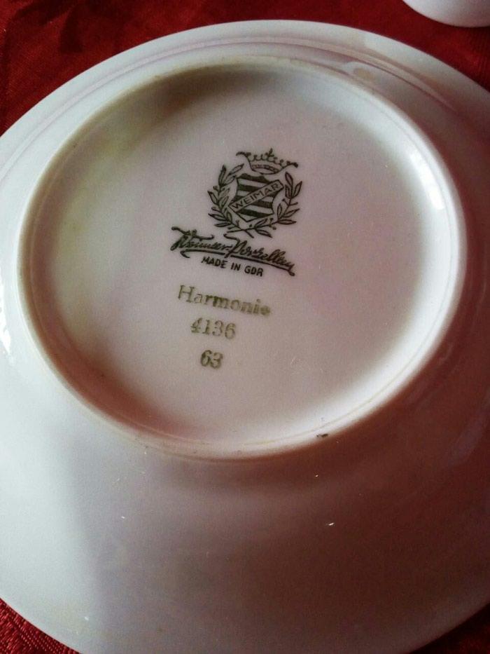 Части от чайного сервиза, веймар гдр все что на фото. Photo 3