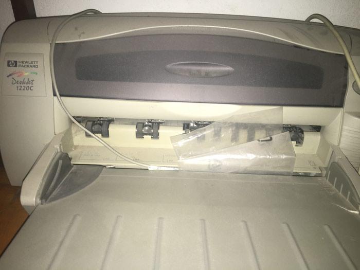 Цветной Принтер HP1220C. В хорошем состоянии. работает.. Photo 0
