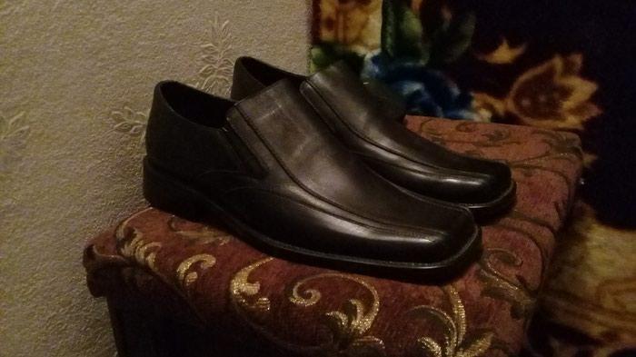 Кожанные туфли 43 размера. Photo 3