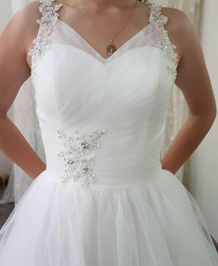 Свадебное платье новое из Америки,размер -42. Photo 0