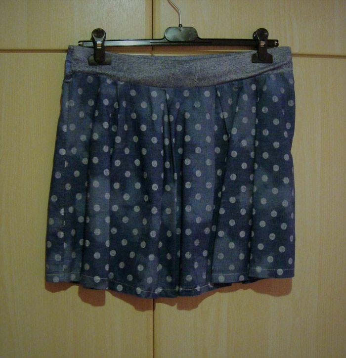 Πουά φούστα, M/L, αφόρετη ΔΩΡΟ το μπολερό! (κωδ. 136) σε Καματερó