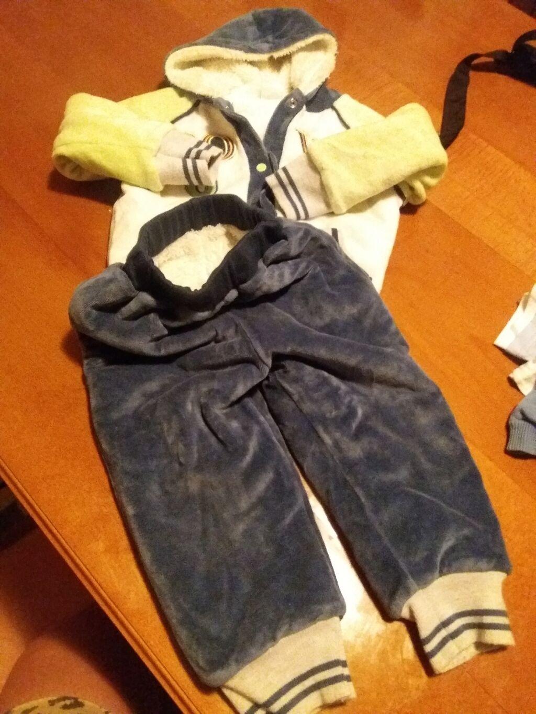 Paket odeće - Sokobanja: Jednom obucen kompletic postavljen krznom