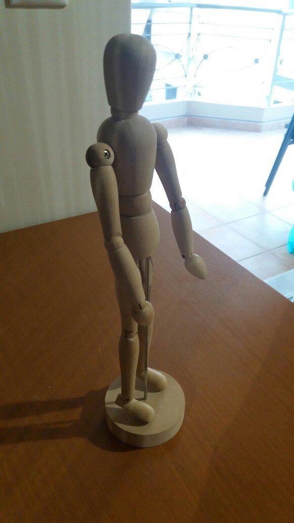 Διακοσμητικό ανθρωπάκι ικεα 24 εκατοστά ύψος. άριστη κατάσταση. Photo 1