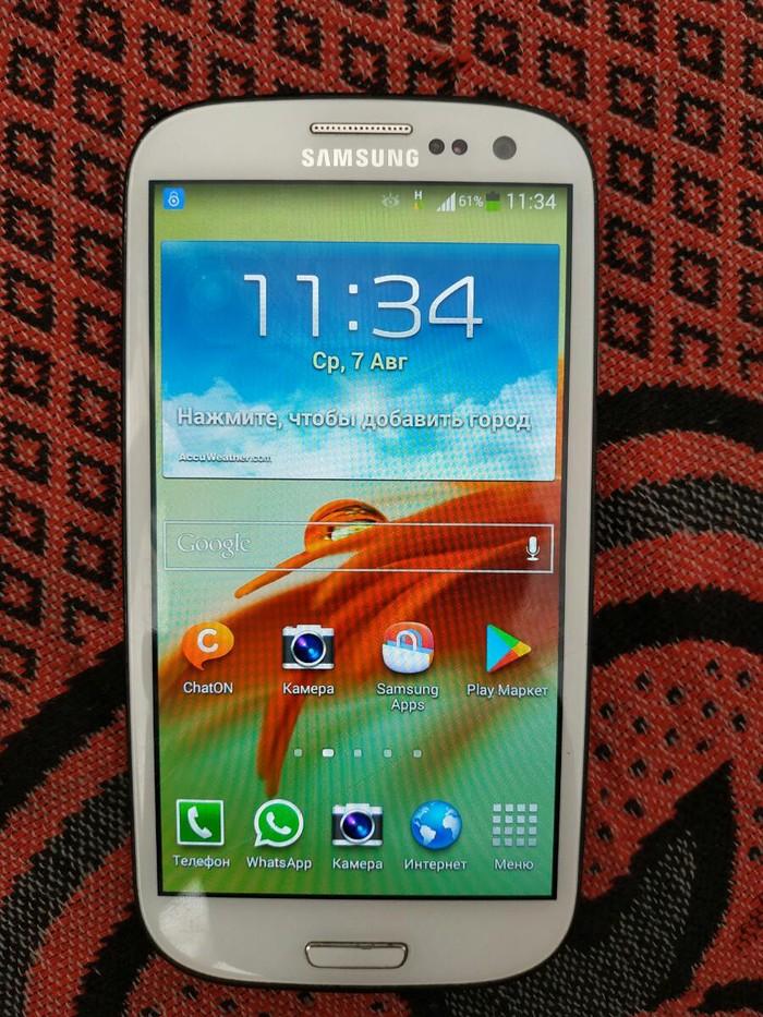 Б/у Samsung I9300 Galaxy S3 16 ГБ Белый. Photo 2