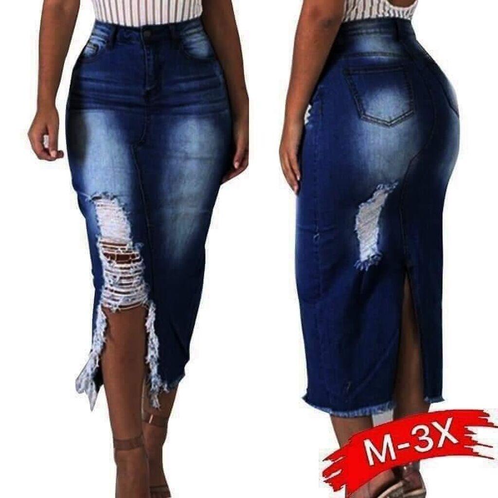 Teksas suknja do 3XL