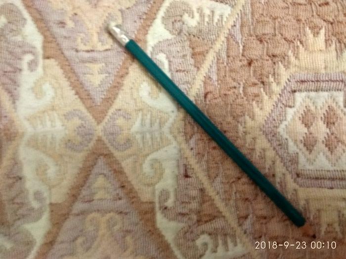 Продаю простой карандаш зеленого цвета с резинкой! Более 120 штук! в Бишкек