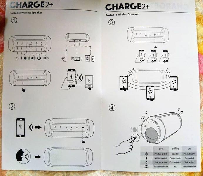 Φορητός Ήχος με μεγάλη διάρκεια. To νέο Charge2+ CHARGE3. Photo 3
