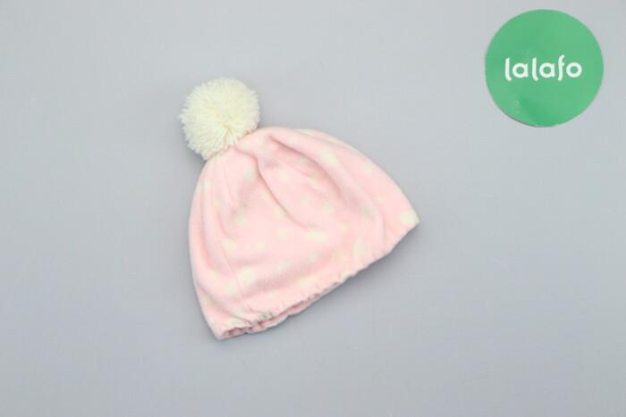 Дитяча зимова шапочка з помпоном     Висота: 14 см Напівобхват голови: Дитяча зимова шапочка з помпоном     Висота: 14 см Напівобхват голови: