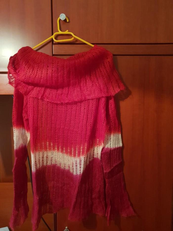 Μάλλινη γυναικεία μπλούζα. Photo 1