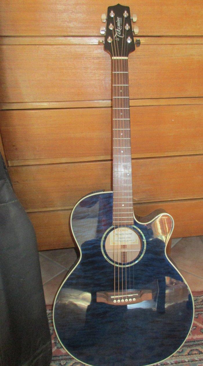 Πωλείται ακουστική κιθάρα Τakamine EG440C-STBQ. Photo 0