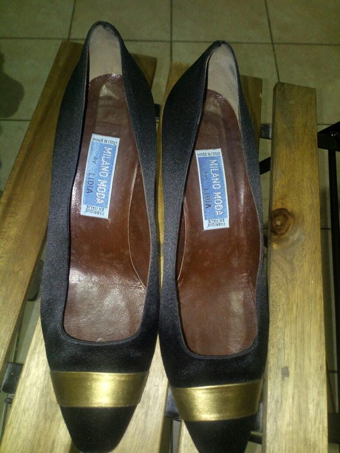 Cipele Milano Moda br 40, stikla 7cm.. Photo 0