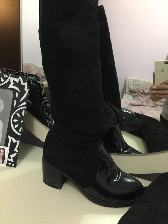 7d0403ab79f7 Продажа Сапоги зимоие на каблуке 35 р за 700 KGS в Бишкеке  Женские ...