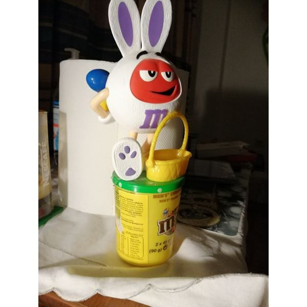 M&m's Easter Bunny for sale  No candy inside