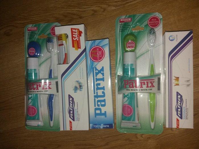 Зубная паста Patrix барои сафед кардани дандонхо. Гарантия 100 %. Photo 2