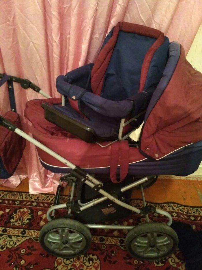 продается детская коляска состояние отличное, зима -лето 2 чихла на 2- в Кара-Балта