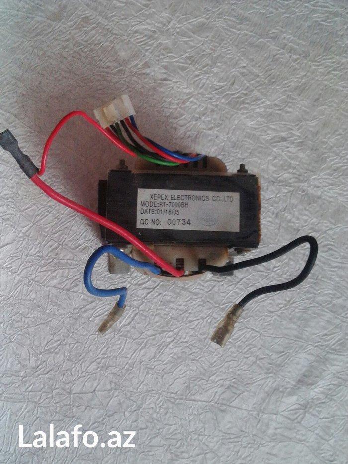 Bakı şəhərində Трансформатор для UPS.Вход 220в,выход 2×6вольт.