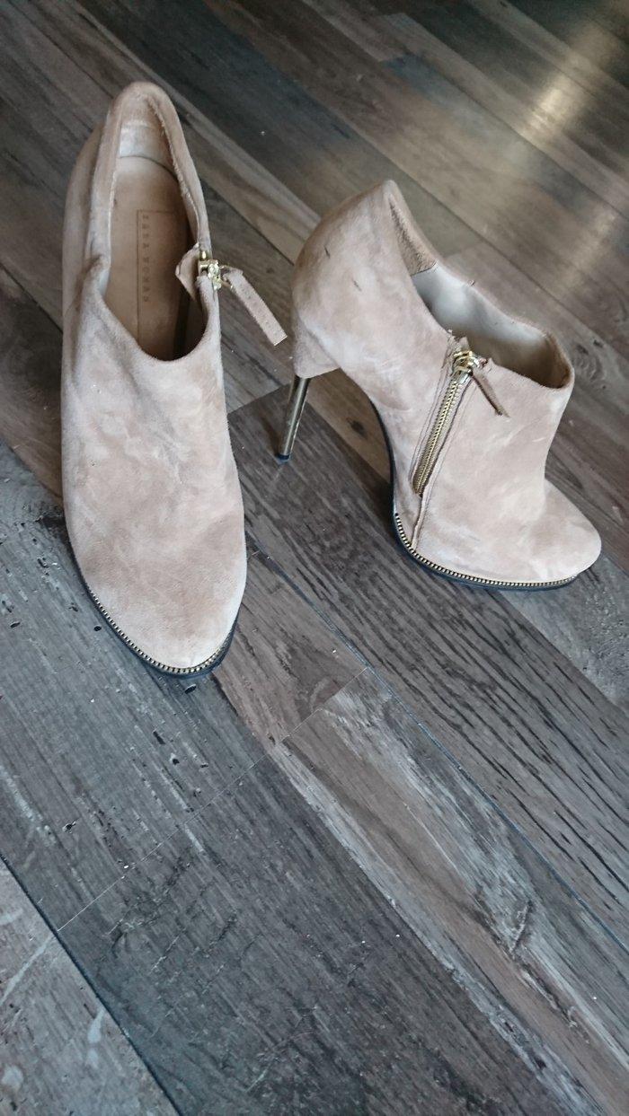 Zara μποτάκια 100%δέρμα 40 size σε Σαλαμίνα