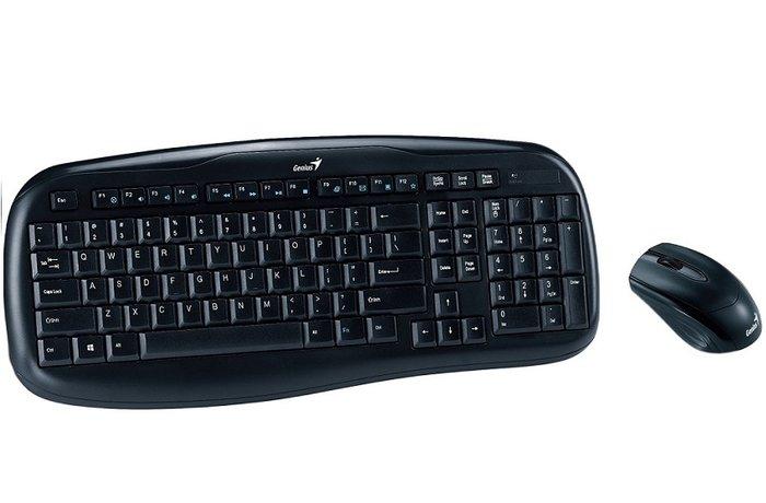 Bakı şəhərində Kabelsiz klaviatura + mouse. Orjinal genius kb-8000x. Eng / rus