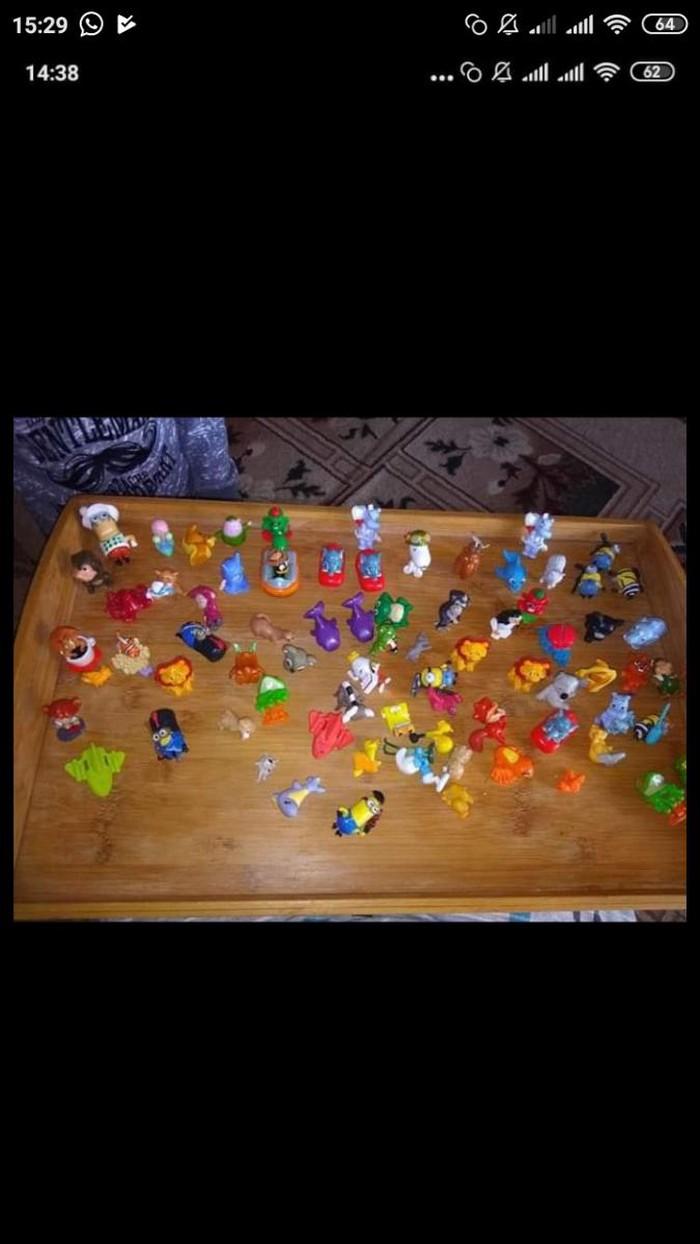 Kinder oyuncaqlari hamisi 5 man. Photo 0