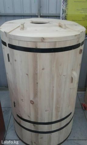 Продается фито бочка (кедровая)!Высота 125-130 смДиаметр 75-85 в Бишкек