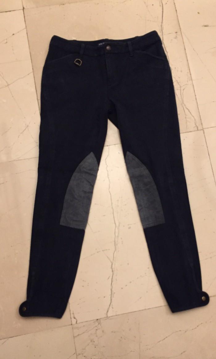 Σκουρο μπλέ Παντελόνι ιππασίας Ralph Lauren original . No S. Photo 0