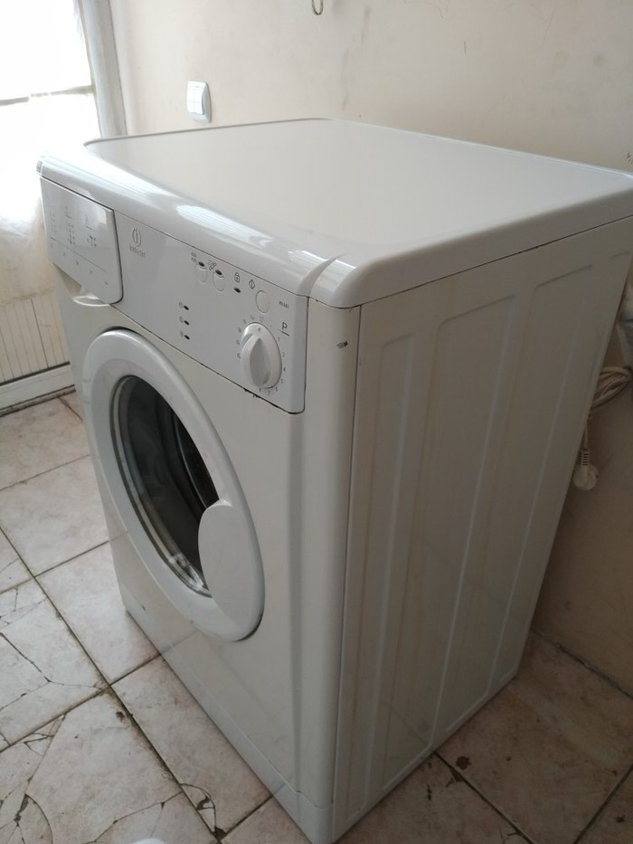 Vertical Avtomatik Washing Machine Indesit 6 kg.. Photo 0