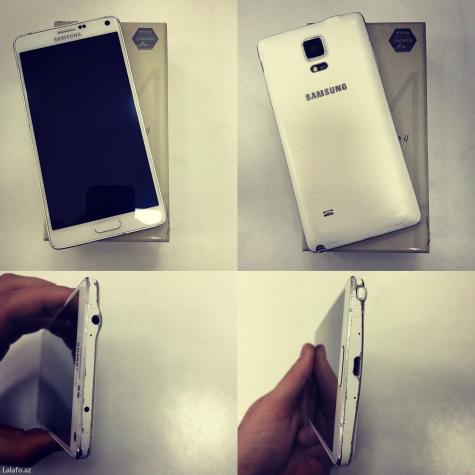 İşlənmiş Samsung Galaxy Note 4 ağ. Photo 0
