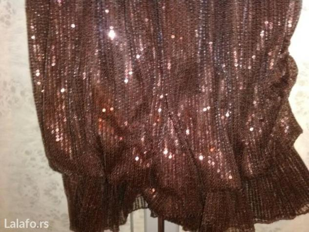 Haljina sa sljokicama,jednom nosena. Photo 3