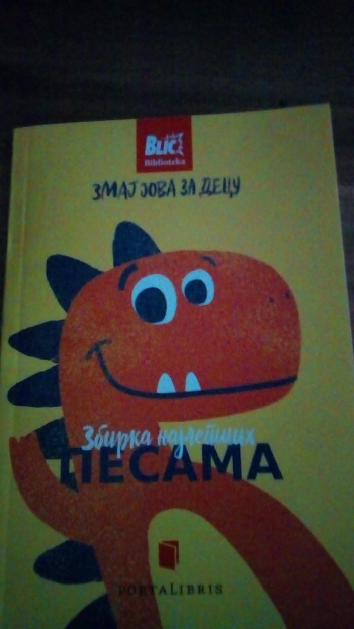 Decija omiljena knjiga zmaj jova za decu zbirka najlepsih pesama  porucite sto pre