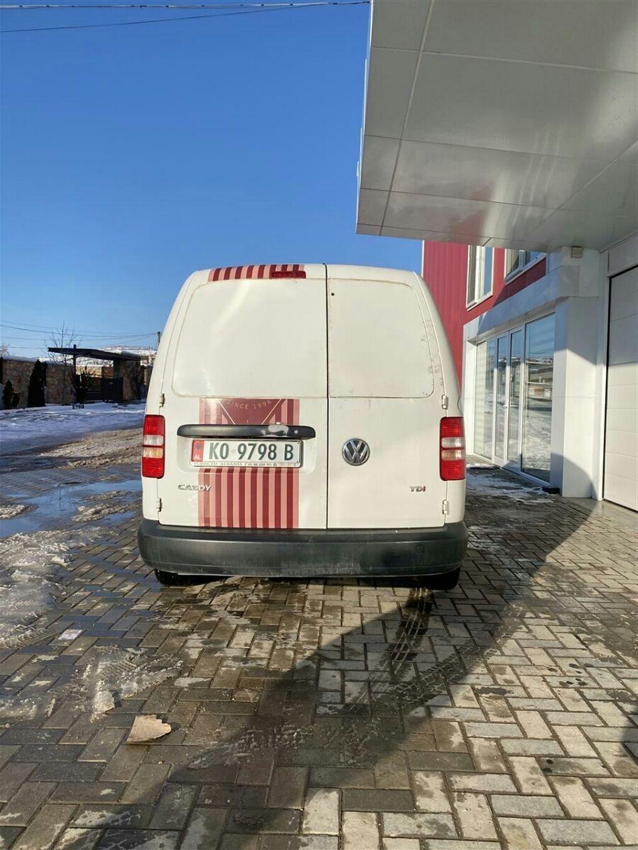 Volkswagen - Περιφερειακή ενότητα Καστοριάς: Volkswagen Caddy 1.6 l. 2010   25800 km