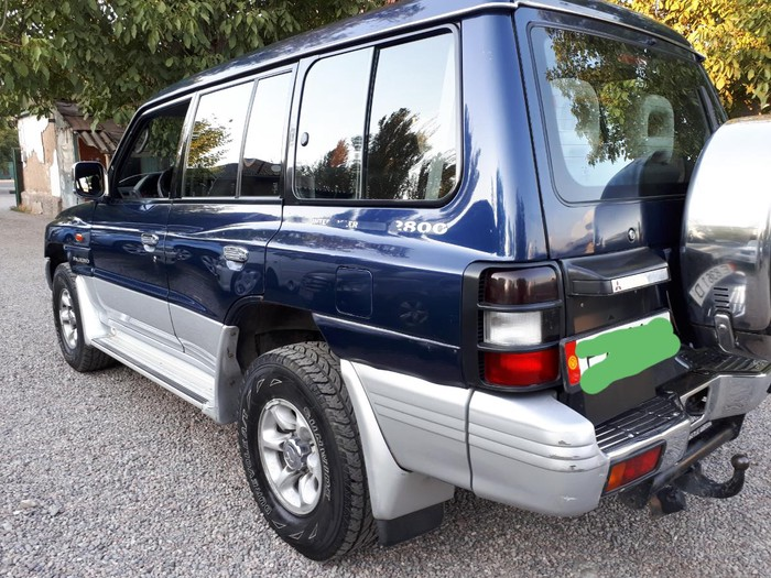 Mitsubishi Pajero 1999. Photo 4