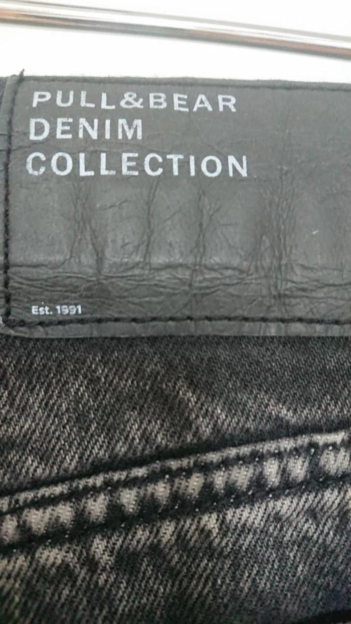 Μαύρο Τζιν παντελόνι denim mom fit  σε άριστη κατάσταση νούμερο 34. Photo 3