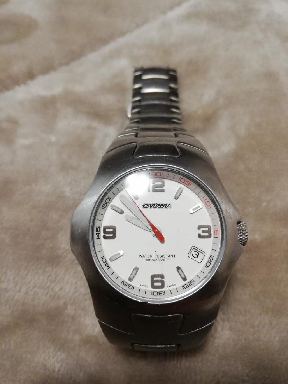 Πωλείται ανδρικό ρολόι Carrera με μπρασελέ σε πολύ καλή κατάσταση
