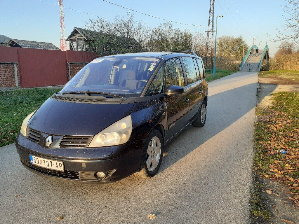 Renault Espace 1.9 l. 2003 | 200000 km