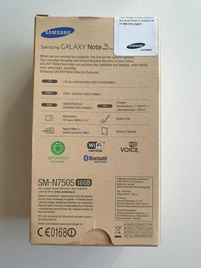 Μεταχειρισμένο Samsung Galaxy Note 3 Neo 32 GB άσπρο. Photo 3
