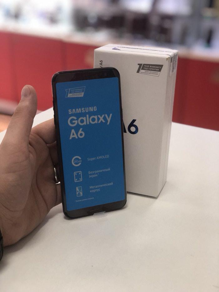 Yeni Samsung Galaxy A6 32 GB qara. Photo 2
