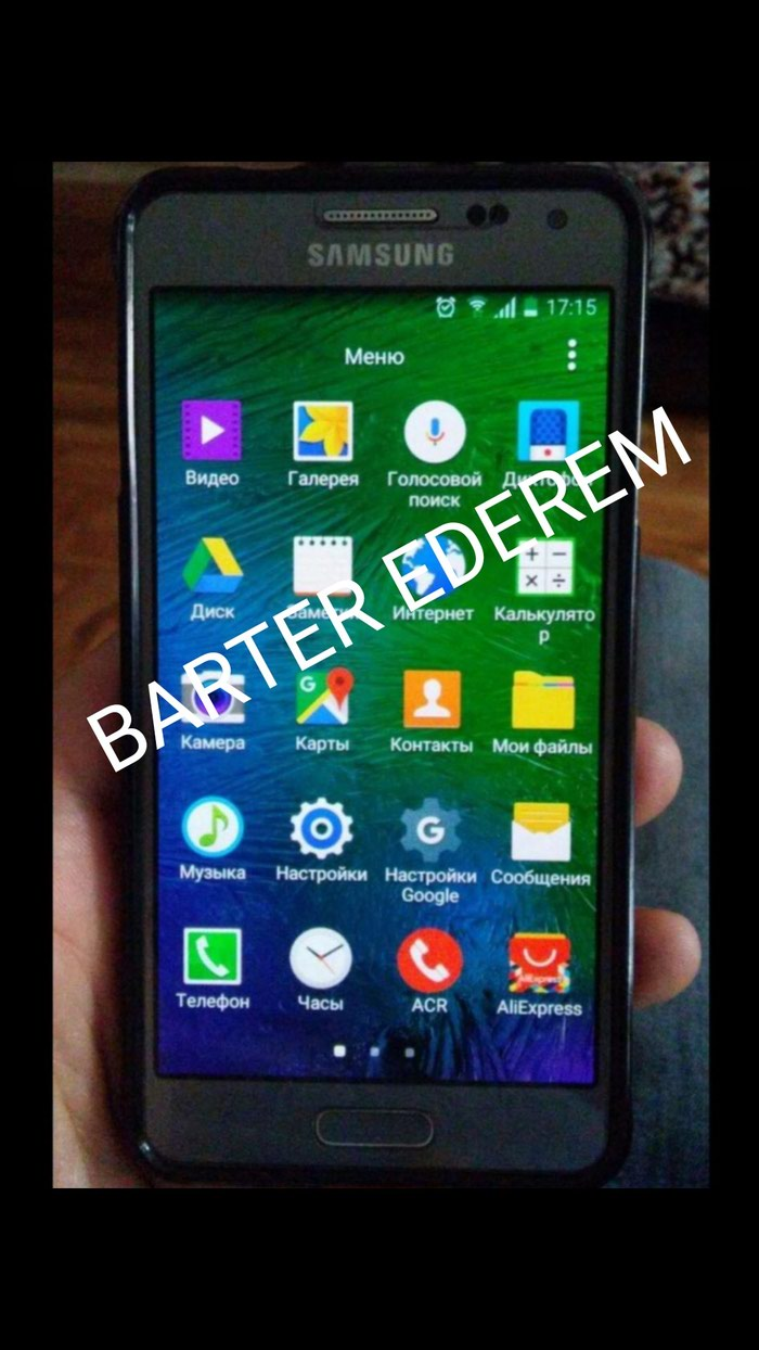 İşlənmiş Samsung Galaxy Alpha 32 GB boz. Photo 1