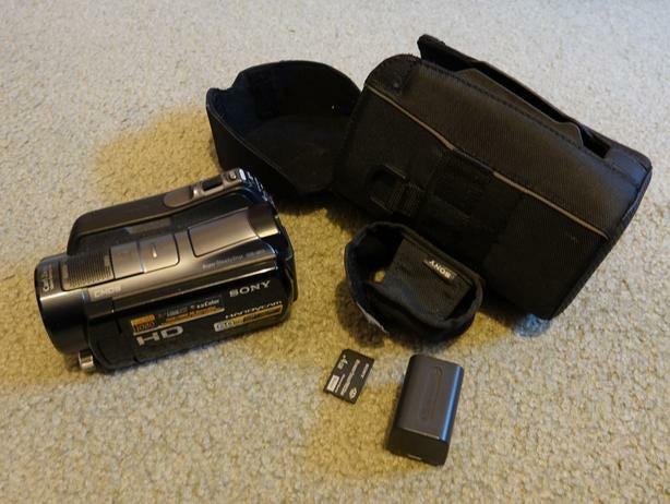 VideoKamera SONY HDR - SR 11. Photo 0
