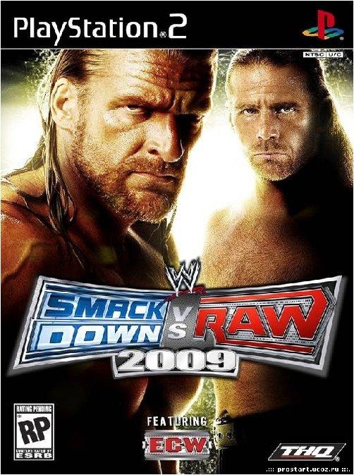 Bakı şəhərində SMACK DOWN & RAW 2009.Ps2 üçün.Yenidir.Sayı çoxdur.