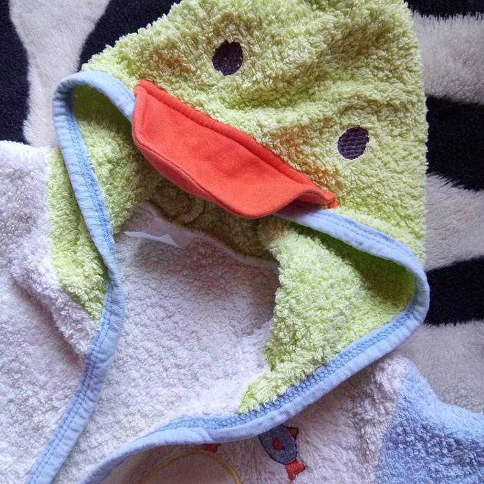 Bade mantil za decu. 1-2 godine.. Photo 2