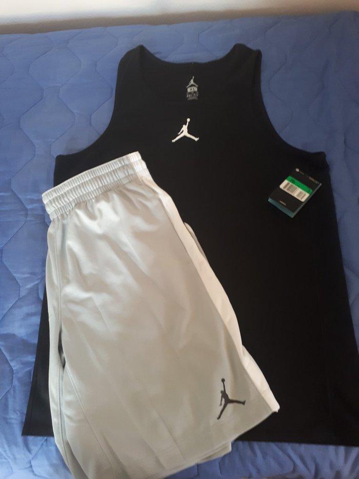 Βερμουδα με μπλουζα nike jordan μπασκετικα. σε Έδεσσα