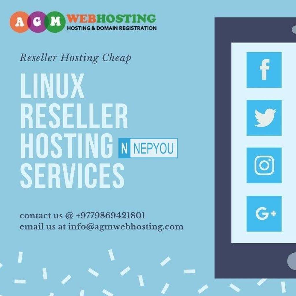 IT, Internet, Telekom - Kathmandu: Start Reseller Hosting is on Great Sale at just 999/month at  AGM Web