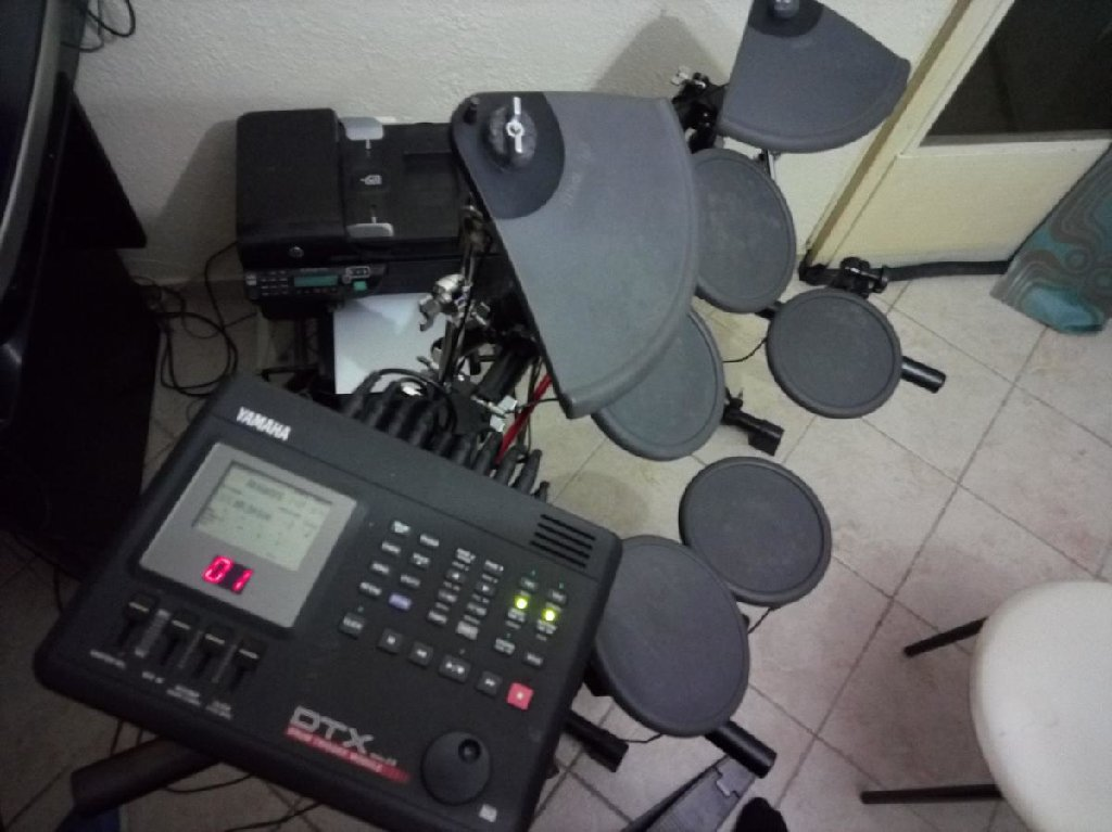 Ηλεκτρονικά τύμπανα yamaha dtx version 2