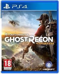 Bakı şəhərində Ghost Recon PS-4  Oyunu 2017-nin mart ayında çıxıb, teze oyundu,