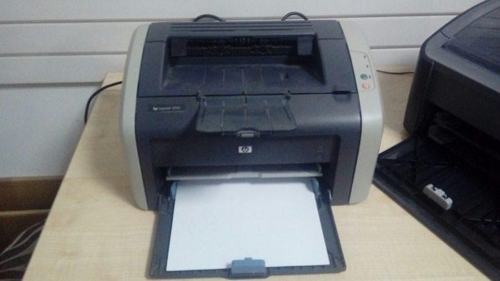 Принтер HP LJ1010 хороший принтер. Photo 0