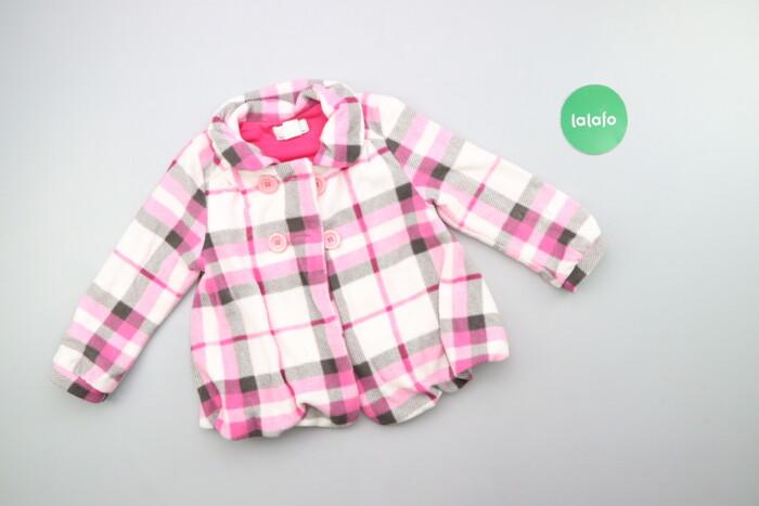 Дитяче пальто у клітинку B.p.c., вік 4-5 р., зріст 104-110 см    Довжи: Дитяче пальто у клітинку B.p.c., вік 4-5 р., зріст 104-110 см    Довжи