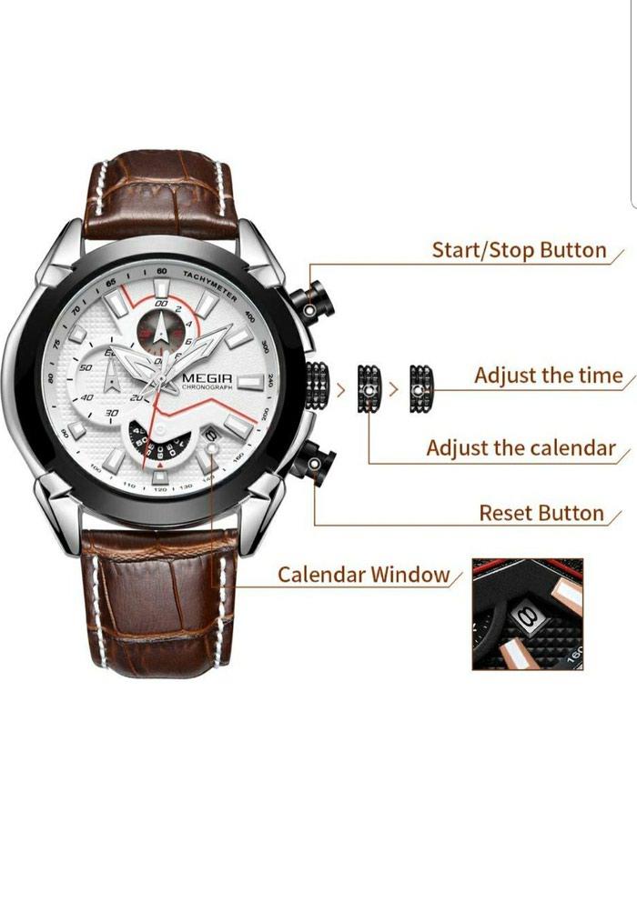 8e014c13eed0 Новые мужские часы фирмы Megir. , цена  2500 KGS в категории ...