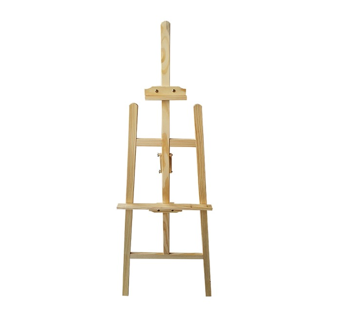 Καβαλέτο ζωγραφικής ξύλινο Υ145x55εκ