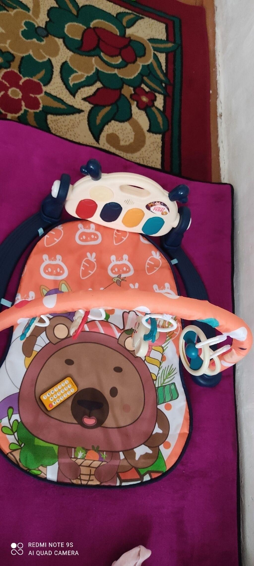 Продаю обсолютно новый коврик ребенок лежал один раз по размеру не: Продаю обсолютно новый коврик , ребенок лежал один раз по размеру не