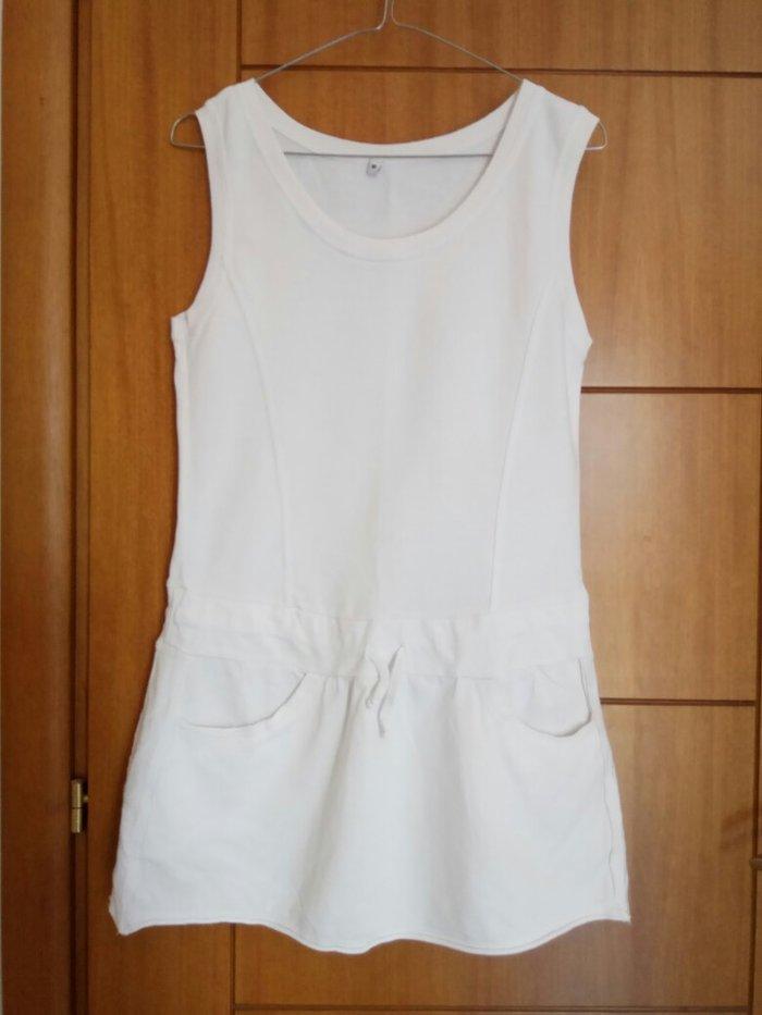 Ολοκαίνουργιο άσπρο σπορ φόρεμα. Photo 0